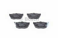 Set placute frana, frana disc BOSCH 0 986 424 418