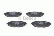 Set placute frana, frana disc BOSCH 0 986 424 512