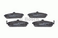 Set placute frana, frana disc BOSCH 0 986 424 810