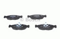 Set placute frana, frana disc BOSCH 0 986 460 938