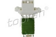 Rezistor, ventilator habitaclu TOPRAN 304 209