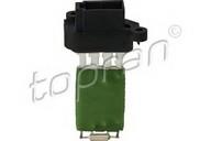 Rezistor, ventilator habitaclu TOPRAN 304 210