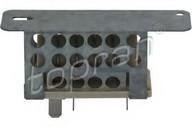 Rezistor, ventilator habitaclu TOPRAN 304 211