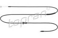 Cablu, capota motor TOPRAN 821 041