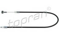 Cablu, capota motor TOPRAN 821 043