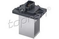 Rezistor, ventilator habitaclu TOPRAN 821 199