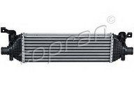 Intercooler, compresor TOPRAN 304 268