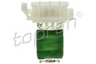 Rezistor, ventilator habitaclu TOPRAN 208 254