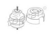 Suport motor SEAT Exeo  (3R2) 2.0 TDI (125KW / 170CP)TOPRAN 110 127