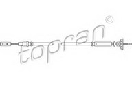Cablu ambreiaj TOPRAN 102 646