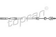 Cablu ambreiaj TOPRAN 102 853