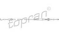 Cablu acceleratie TOPRAN 102 647