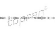 Cablu acceleratie TOPRAN 109 822