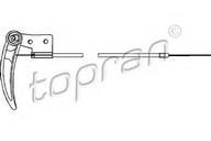 Cablu, capota motor TOPRAN 103 414