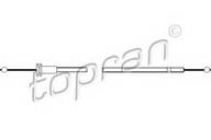 Cablu, capota motor TOPRAN 102 988