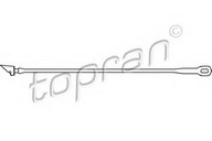 Mocheta, portbagaj TOPRAN 102 672