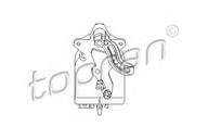 Element de reglare, clapeta carburator TOPRAN 111 094