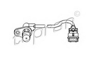 Senzor turatie, management motor TOPRAN 721 689