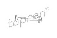 Maner, inchidere capota motor TOPRAN 407 910
