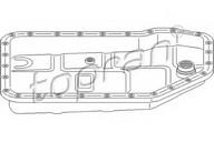 Baie ulei, cutie viteze automata TOPRAN 112 341