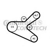 Set curea transmisie cu caneluri CONTITECH 6PK1153K2