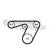 Set curea transmisie cu caneluri CONTITECH 6PK1180K1
