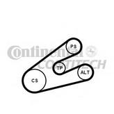 Set curea transmisie cu caneluri CONTITECH 6PK1453K1