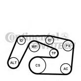Set curea transmisie cu caneluri CONTITECH 6PK2271K1