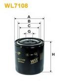 Filtru ulei WIX FILTERS WL7108