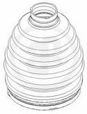 Ansamblu burduf, articulatie planetara AUTOFREN SEINSA D8427T