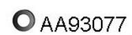 Banda cauciuc,  sistem de esapament VENEPORTE AA93077