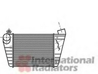 Intercooler, compresor VAN WEZEL 03004172