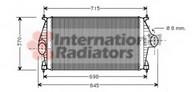 Intercooler, compresor VAN WEZEL 09004126