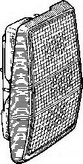 Lampa spate VAN WEZEL 1836931