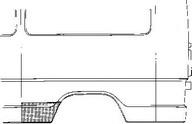 Panou lateral VAN WEZEL 3070141