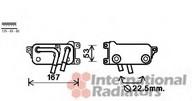 Radiator racire ulei, cutie de viteze automata VAN WEZEL 06003401