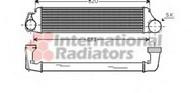 Intercooler, compresor VAN WEZEL 06004282