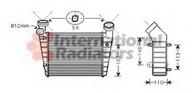 Intercooler, compresor VAN WEZEL 58004216