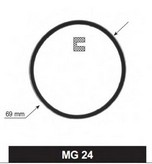 Garnitura, carcasa termostat MOTORAD MG-24
