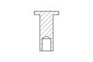 Nit, material frictiune saboti frana TEXTAR 86002800
