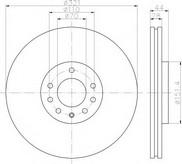 Disc frana TEXTAR 92149803