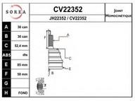 Set articulatie, planetara EAI CV22352K