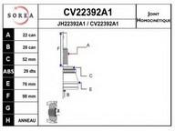 Set articulatie, planetara EAI CV22392A1K