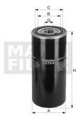 Filtru hidraulic, cutie de viteza automata MANN-FILTER WD 920/3
