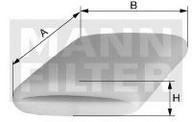 Filtru, aerisire bloc motor MANN-FILTER CS 51