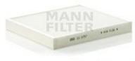 Filtru, aer habitaclu MANN-FILTER CU 2757