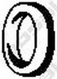 Banda cauciuc,  sistem de esapament BOSAL 255-338