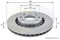 Disc frana COMLINE ADC1007V