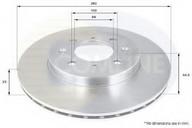 Disc frana COMLINE ADC0554V