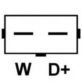 Generator/alternator HC-PARTS CA1255IR